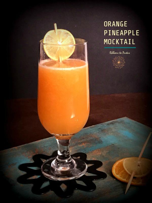 Orange & Pineapple Mocktail
