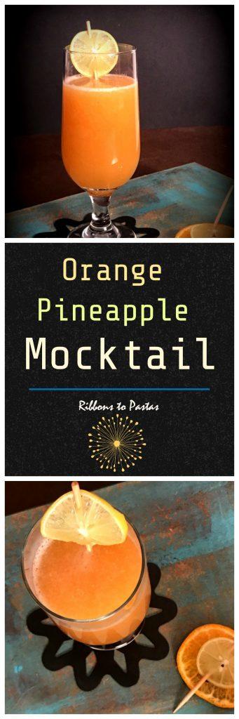 Orange Pineapple Mocktail