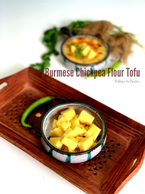 Burmese Tofu / Chickpea Flour Tofu