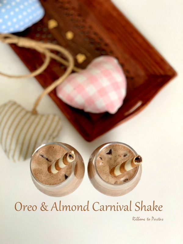 Oreo & Almond Carnival Ice Cream Shake