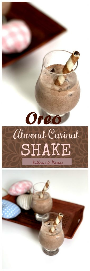 Oreo and Almond Carnival Shake