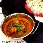 Vegetable Kofta with Potato and Paneer