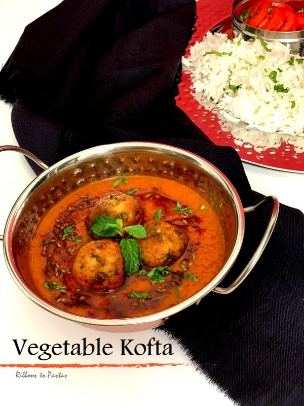 Vegetable Kofta with Potato and Paneer