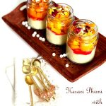 Kesari Phirni with Mango & Nuts