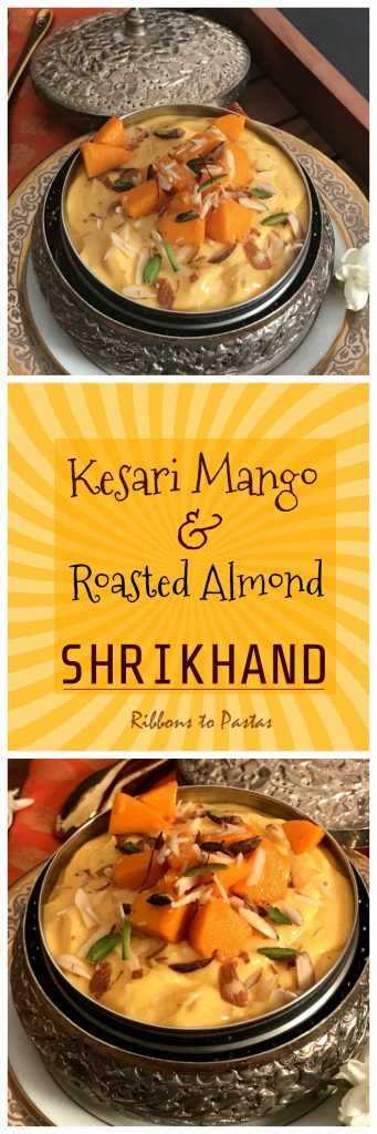 Kesari Mango & Roasted Almond Shrikhand