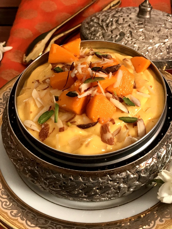 Kesari Mango & Roasted Almond Shrikhand