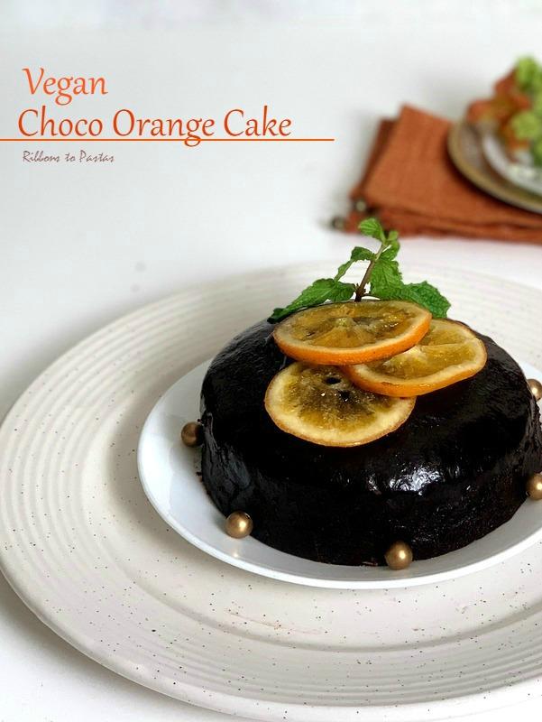 Vegan Choco Orange Cake