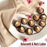 Amaranth & Nuts Ladoo