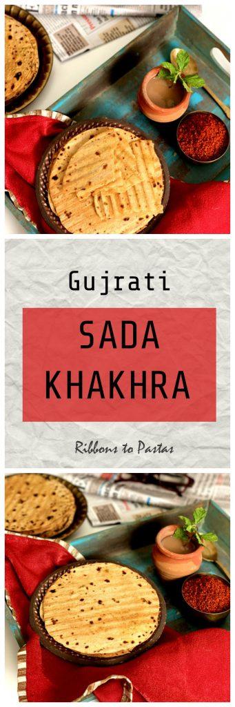 Sada Khakhra - in a griller toaster