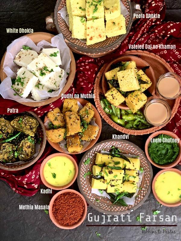 Gujrati Farsan Platter