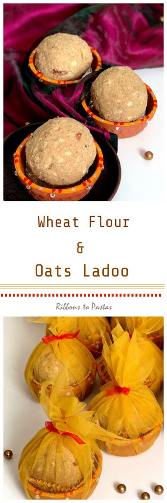 Wheat Flour and Oats Ladoos