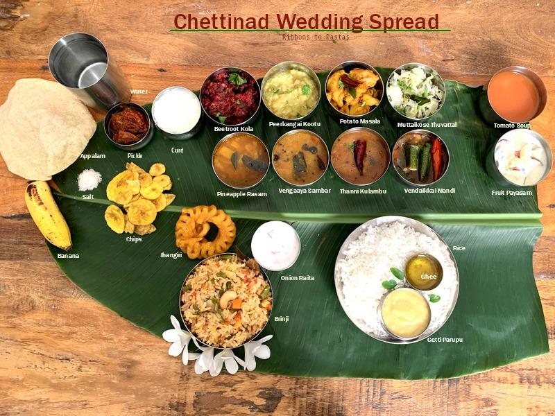 Chettinad Wedding Spread