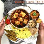 Sindhi Winter Lunch Thali