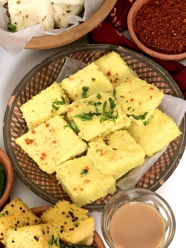 Gujarati Farsan Platter