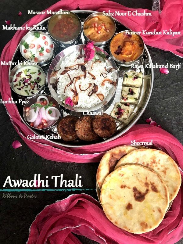 Awadhi Thali