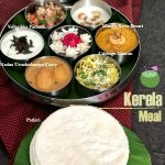 A meal from Kerala