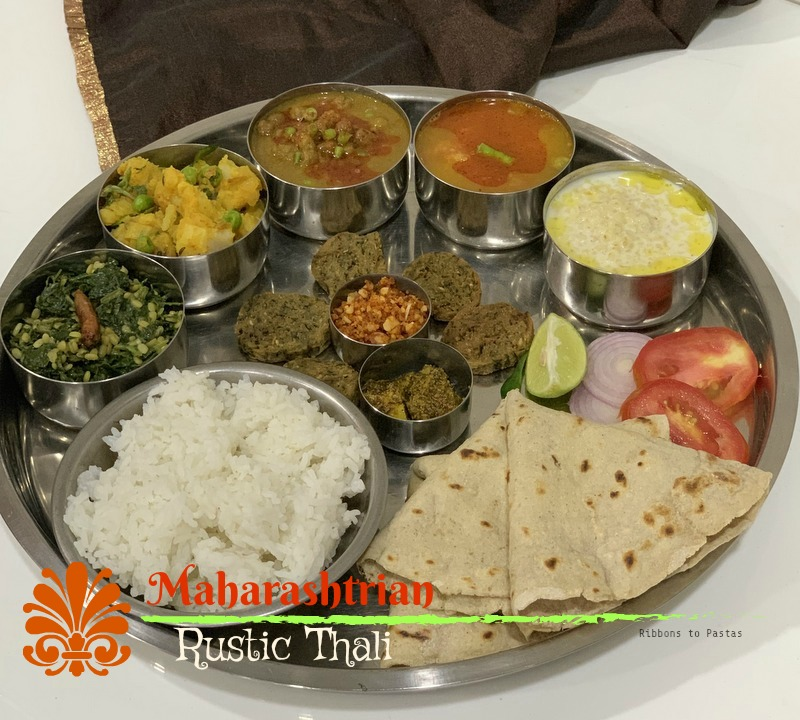 Maharashtrian Rustic Thali