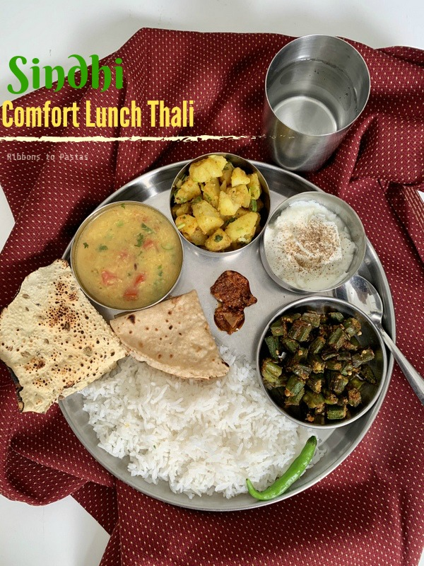 Sindhi Lunch Thali -The Ultimate Comfort Food