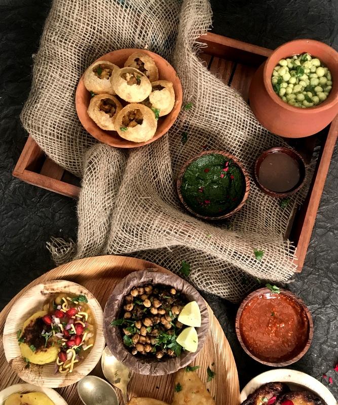 Chatpati Chaat Platter