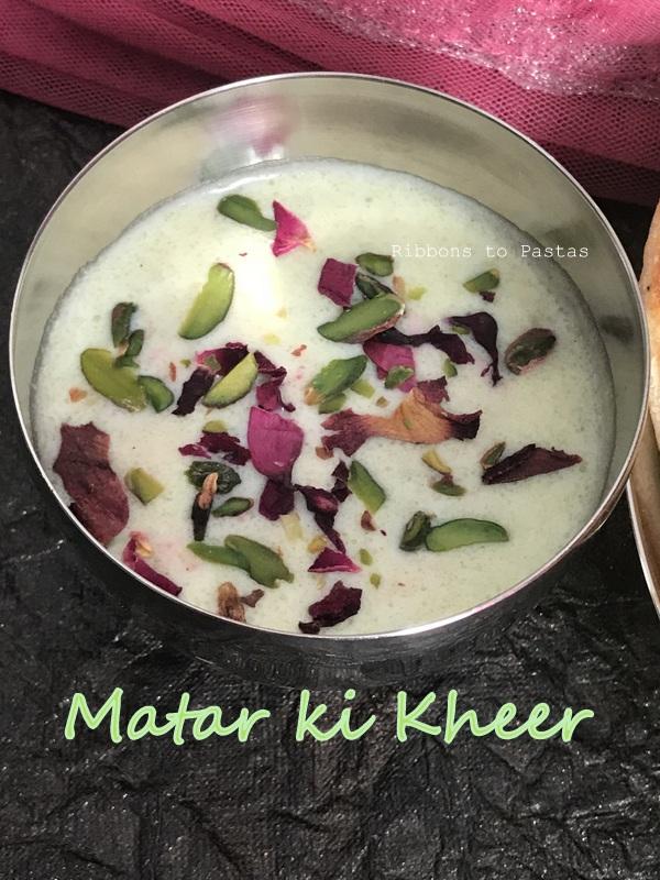 Matar ki Kheer