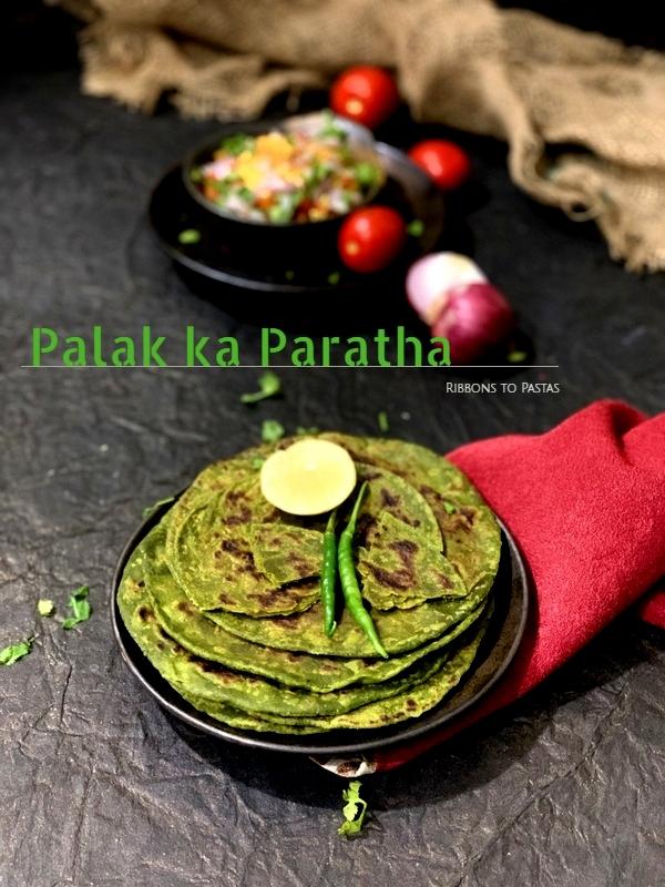 Palak ka Paratha