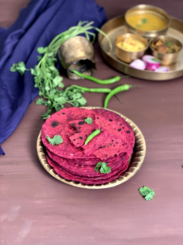 Beetroot Paratha