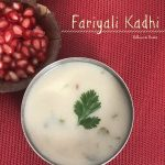 Fariyali Kadhi / Fasting Curry