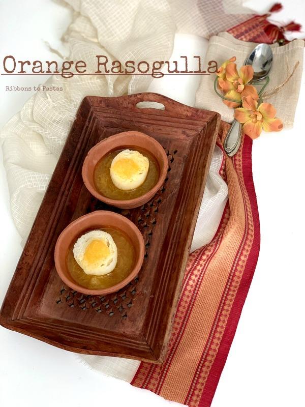 Orange Rasagolla