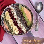 Mango Berry Smoothie Bowl