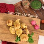 Stuffed Whole Onion Pakoras
