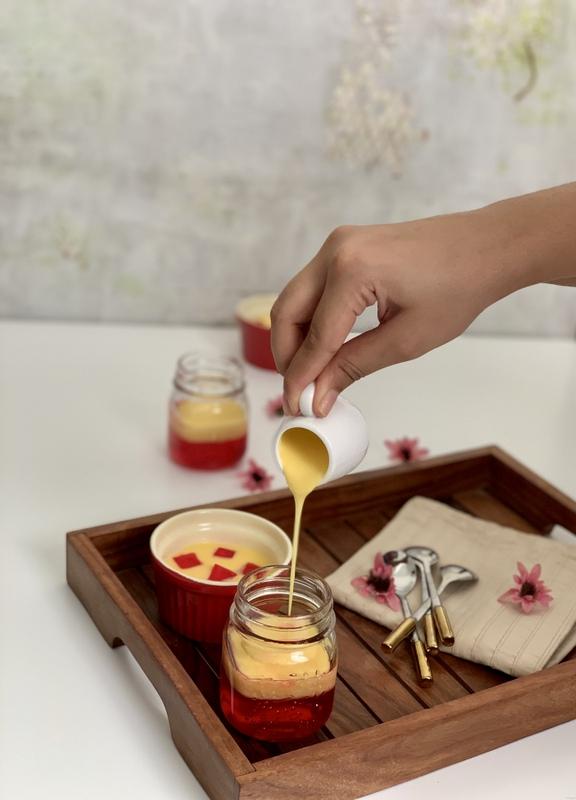 Custard Jelly Dessert