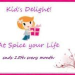 Announcing Kid's Delight Event - Colourful Foods