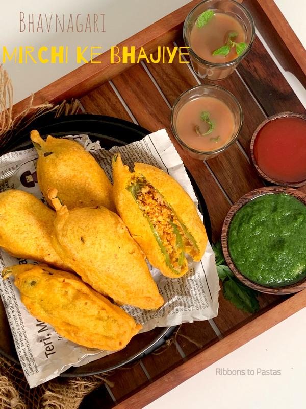 Bhavnagari Mirch ke Bhajiye