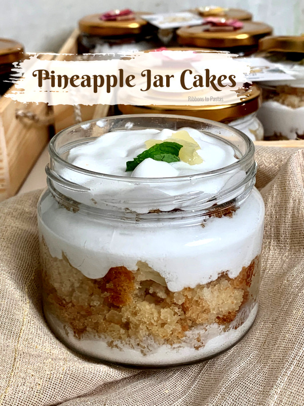 Pineapple Jar Cakes