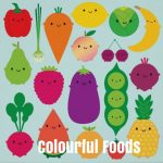 Colourful Foods Kids Delight