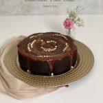 Salted Caramel Chocolate Poke Cake