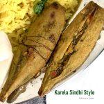 Karela Sindhi Style | Dhage waara Karela