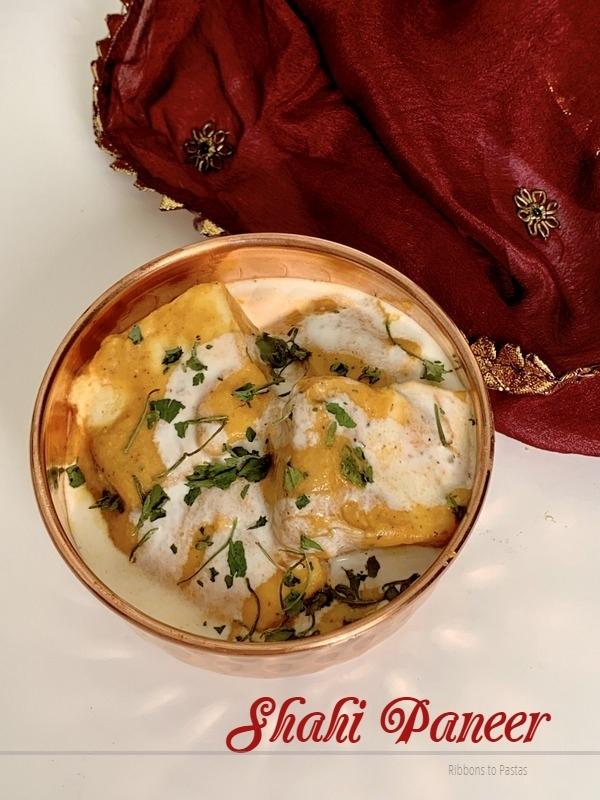 Shahi Paneer   Paneer in Cashew Gravy