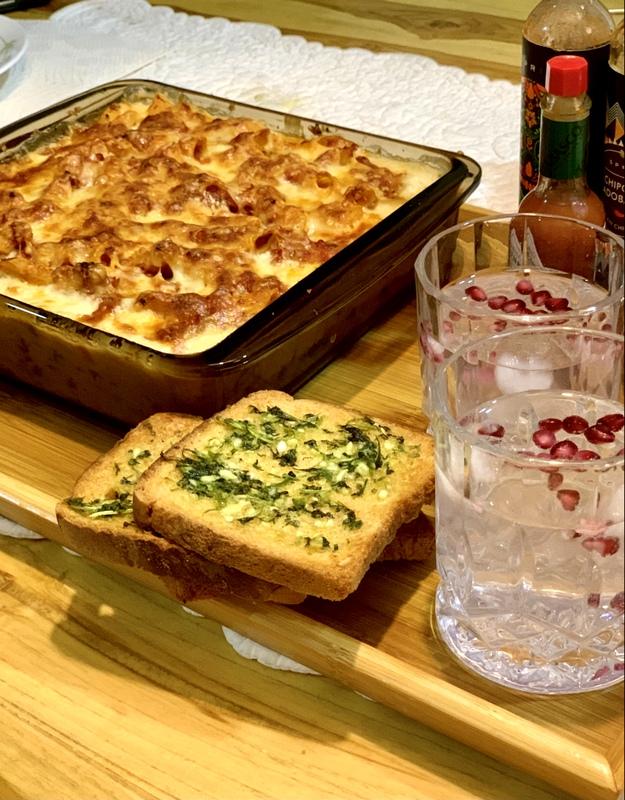 Baked Veggies & Pasta