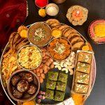 Diwali Sweet & Snacks Platter