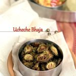 Uchche Bhaja | Bitter Gourd Fries
