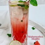 Watermelon Mojito | Healthy Summer Drink